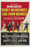 """Movie Posters:Musical, There's No Business Like Show Business (20th Century Fox, 1954). One Sheet (27"""" X 41""""). Marilyn Monroe, Ethel Merman, Donald..."""