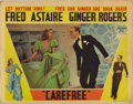 "Movie Posters:Musical, Carefree (RKO, 1938). Lobby Cards (4) (11"" X 14""). These lobbycards have slight corner creases, some edge staining and a co...(Total: 4 Items)"