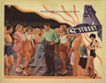 """Movie Posters:Musical, 42nd Street (Warner Brothers, 1933). Lobby Card (11"""" X 14""""). WarnerBaxter is putting on a show. Co-starring along with Baxt..."""