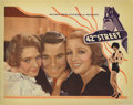 "Movie Posters:Musical, 42nd Street (Warner Brothers, 1933). Lobby Card (11"" X 14""). Thislobby card has a slight trim along the right side and a ti..."