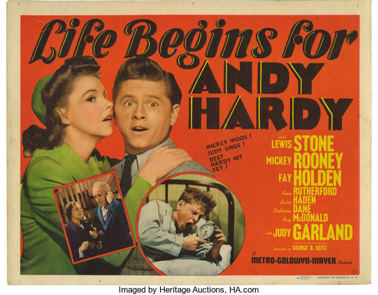 Image result for Life Begins for Andy Hardy 1941