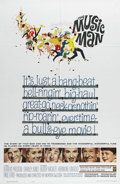 """Movie Posters:Musical, The Music Man (Warner Brothers, 1962). One Sheet (27"""" X 41""""). Robert Preston stars as con man Harold Hill, who arrives in a ..."""