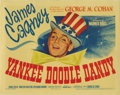 "Movie Posters:Musical, Yankee Doodle Dandy (Warner Brothers, 1942). Title Lobby Card andLobby Cards (3) (11"" X 14""). The Hollywood version of Geor...(Total: 4 Items)"