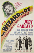 """Movie Posters:Musical, The Wizard of Oz (MGM, R-1948). One Sheet (27"""" X 41""""). When Judy Garland is swept out of Kansas to the magical Land of Oz an..."""