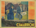 "Movie Posters:Western, Cimarron (RKO, 1931). Lobby Card (11"" X 14""). This Academy Awardwinning picture was adapted from the great Edna Ferber nove..."