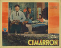 "Movie Posters:Western, Cimarron (RKO, 1931). Lobby Card (11"" X 14""). This lobby card featuring a closeup of Richard Dix has slight corner dings. Ve..."