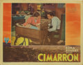 "Movie Posters:Western, Cimarron (RKO, 1931). Lobby Card (11"" X 14""). This lobby cardfeaturing Irene Dunne and Richard Dix has slight corner dings ..."