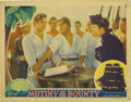 """Movie Posters:Drama, Mutiny On The Bounty (MGM, 1935). Lobby Cards (2) (11"""" X 14"""").These lobby cards have pinholes with small tears, light edge ...(Total: 2 Items)"""