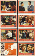"""Movie Posters:Drama, The Apartment (United Artists, 1960). Lobby Card Set of 8 (11"""" X14""""). Jack Lemmon, Shirley MacLaine and Fred MacMurray star...(Total: 8 Items)"""