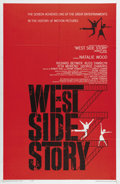 "Movie Posters:Musical, West Side Story (United Artists, 1961). One Sheet (27"" X41"").Robert Wise and Jerome Robbins directed this masterfuladaptat..."
