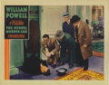 "Movie Posters:Mystery, The Kennel Murder Case (Warner Brothers, 1933). Lobby Cards (2)(11"" X 14""). William Powell made his final appearance as Phi...(Total: 2 Items)"