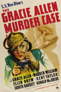"""Movie Posters:Comedy, The Gracie Allen Murder Case (Paramount, 1939). One Sheet (27"""" X41""""). Gracie Allen was one of the most popular comediennes ..."""