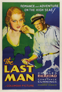 "The Last Man (Columbia, 1932). One Sheet (27"" X 41""). This might be the quintessential title for the rough and..."