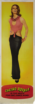 """Casino Royale (Columbia, 1967). Door Panels (5) (20"""" X 60""""). Several different James Bonds take on SMERSH for..."""