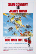 "Movie Posters:Action, You Only Live Twice (United Artists, 1967). One Sheet (27"" X 41""). Style B. The fifth James Bond film featuring Sean Connery..."