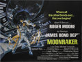 "Movie Posters:Drama, Moonraker (United Artists, 1979). British Quad (30"" X 40""). LewisGilbert directed the Ian Fleming story about a jet that cr..."