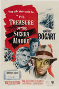 "Movie Posters:Drama, Treasure of the Sierra Madre (Warner Brothers, 1948). One Sheet (27"" X 41""). Humphrey Bogart, Walter Huston and Tim Holt sta..."