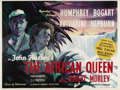 "Movie Posters:Adventure, The African Queen (United Artists, 1952). British Quad (30"" X 40"").Humphrey Bogart as an aging alcoholic river boat captain..."