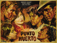 "Dead End (United Artists, 1945 reissue). Argentinean Double Panel (43.5""x 57.75""). Humphrey Bogart gave one of..."