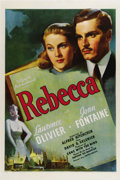 "Movie Posters:Hitchcock, Rebecca (United Artists, 1940). One Sheet (27"" X 41""). This isdirector Alfred Hitchcock's first American film, having been ..."