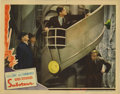 "Movie Posters:Mystery, Saboteur (Universal, 1942). Lobby Cards (5) (11"" X 14""). Falselyaccused of an act of sabotage that destroyed a portion of a...(Total: 5 Items)"
