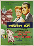 """Movie Posters:Hitchcock, The Man Who Knew Too Much (Paramount, 1956). Poster (30"""" X 40"""").James Stewart and Doris Day star in the 1956 version of Alf..."""
