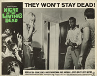 """Night of the Living Dead (Continental, 1968). Lobby Cards (5) (11"""" X 14""""). George A. Romero's low-budget horro..."""