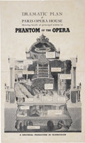 """Movie Posters:Horror, Phantom of the Opera (Universal, 1943). One Sheet (19.75"""" X 33.5"""") Style E. Claude Rains stars as the famous and horrifying ..."""