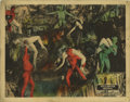 """Movie Posters:Horror, Dante's Inferno (Fox, 1924). Lobby Card (11"""" X 14""""). Dante Alighieri's classic poem was brought to the screen with all of th..."""