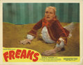 "Movie Posters:Horror, Freaks (MGM, R-1949). Lobby Card (11"" X 14""). This 1949 re-releaselobby card has astoundingly fresh color with no pin holes..."