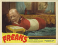 "Movie Posters:Horror, Freaks (MGM, R-1949). Lobby Card (11"" X 14""). This 1949 re-release lobby card has astoundingly fresh color with no pin holes..."