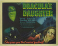 """Movie Posters:Horror, Dracula's Daughter (Universal, 1936). Title Lobby Card (11"""" X 14""""). This sequel to """"Dracula"""" is based on a short story by Br..."""