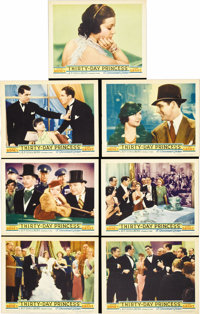"Thirty-Day Princess (Paramount, 1934). Lobby Cards (7) (11"" X 14""). Sylvia Sidney stars as Princess Catterina..."