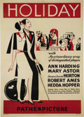 "Movie Posters:Comedy, Holiday (Pathe Exchange Inc., 1930). One Sheet (27"" X 41""). MaryAstor stars as the debutante who intends to marry Robert Am..."