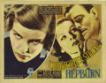 "Movie Posters:Drama, Christopher Strong (RKO, 1933). Title Lobby Card (11"" X 14"").Katharine Hepburn, Colin Clive and Billie Burke star in this d..."
