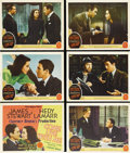 "Come Live with Me (MGM, 1941). Title Lobby Card and Scene Cards (5) (11"" X 14""). Director Clarence Brown finds..."