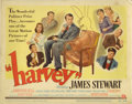 "Movie Posters:Comedy, Harvey (Universal International, 1950). Title Lobby Card (11"" X14""). James Stewart plays Elwood P. Dowd, a wealthy and ecce..."