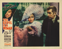 "The Devil is a Woman (Paramount, 1935). Lobby Card (11"" X 14""). Marlene Dietrich stars as a Spanish temptress..."