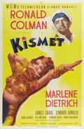 """Movie Posters:Musical, Kismet (MGM, 1944). One Sheet (27"""" X 41""""). Style D. Marlene Dietrich and Ronald Colman star in this romantic drama set in an..."""
