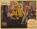 "Movie Posters:Drama, The Scarlet Empress (Paramount, 1934). Lobby Card (11"" X 14""). Thisdazzling lobby card has only two pinholes, light toning,..."