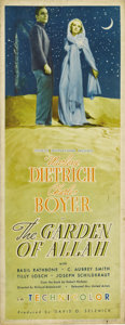 "Movie Posters:Drama, The Garden of Allah (United Artists, 1936. Insert (14"" X 36"").Marlene Dietrich appears in her first Technicolor film as a c..."