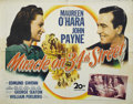 "Miracle on 34th Street (20th Century Fox, 1947). Half Sheet (22"" X 28""). At the Thanksgiving Day parade, a whi..."