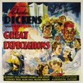 "Movie Posters:Drama, Great Expectations (Universal, 1934). Six Sheet (81"" X 81""). Rare paper from the Hollywood version of Charles Dickens' great..."