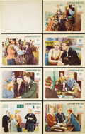 """Movie Posters:Drama, Women Won't Tell (Chesterfield, 1932). Lobby Cards (7) (11"""" X 14""""). Richard Thorpe directed this Depression-era drama starri... (Total: 7 Items)"""