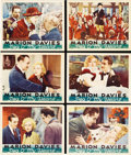 "Movie Posters:Romance, Peg o' My Heart (MGM, 1933). Lobby Cards (6) (11"" X 14""). Manybelieve that Marion Davies went from Ziegfeld Follies dancer ...(Total: 6 Items)"