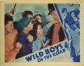 "Movie Posters:Drama, Wild Boys of the Road (First National, 1933). Lobby Cards (4) (11""X 14""). Frankie Darro, Edwin Phillips, Rochelle Hudson, D...(Total: 4 Items)"