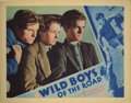 """Movie Posters:Drama, Wild Boys of the Road (First National, 1933). Lobby Cards (3) (11""""X 14""""). Wrenching drama about a group of teenagers (Frank...(Total: 3 Items)"""