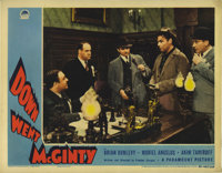 "Down Went McGinty (Paramount, 1940). Lobby Cards (4) (11"" X 14""). The actual release title for this film was &..."