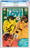 Silver Age (1956-1969):Romance, Young Love #71 (DC, 1968) CGC VF/NM 9.0 Off-white to whitepages....