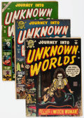 Golden Age (1938-1955):Horror, Journey Into Unknown Worlds Group 6 (Atlas, 1952-55) Condition:Average GD/VG.... (Total: 6 Comic Books)